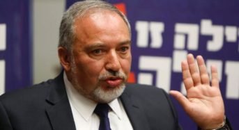 Israel Defense Minister Avigdor Lieberman Resigns