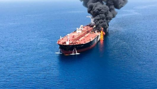 Tankers attacked in the Gulf of Oman