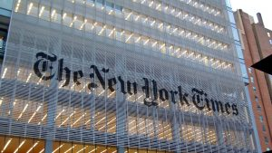 The New York Times Frontage